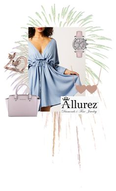 """Allurez 1"" by aidaaa1992 ❤ liked on Polyvore featuring Moon River, Allurez and MICHAEL Michael Kors"