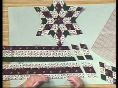 Rita Hutchens / Totally Tubular Quilts / A Strip Piecing Technique / The Basics: Part One - YouTube