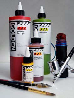 Golden High Flow Acrylics are very fluid colours that have the same high pigment concentration as the heavy body and fluid colours that Golden do. http://www.jacksonsart.com/Brands-A-Z_All_Brands-Golden-Golden_High_Flow_Acrylics/c2200_1044_682_35246/index.html #golden #highflow #fluid #acrylic #paint #painting #acrylicpaint #art #artsupplies #artmaterials