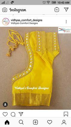 Bridal Blouse Designs done at Vidhya's Comfort Designs, Besant Nagar, Chennai Contact - 9003020689 Bridal Blouse Designs done at Vidhya's Comfort Designs, Besant Nagar, Chennai Contact - 9003020689 Pattu Saree Blouse Designs, Simple Blouse Designs, Stylish Blouse Design, Fancy Blouse Designs, Bridal Blouse Designs, Blouse Neck Designs, Mirror Work Blouse Design, Mirror Work Saree Blouse, Chennai
