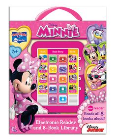 Look what I found on #zulily! Minnie Eight-Book Electronic Me-Reader Set by Minnie's Bow-Tique #zulilyfinds