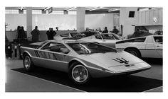 1972 Maserati Boomerang Concept Car Headlines Bonhams' Inaugural Chantilly Sale