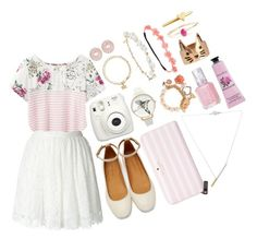 """I found a cherry tree yesterday"" by clampigirl ❤ liked on Polyvore featuring Joules, IRO, Isabel Marant, Kate Spade, Robert Rose, Olivia Burton, FAUX/real, ALDO, Astley Clarke and ASOS"