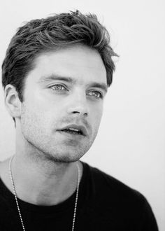 sebastian stan. I am so done with him and his eyes and face and beauty. He's so gorgeous!!!! Ughhh