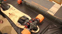 Northern California-based Boosted Boards packs 2000 watts of power in their 12-pound electric skateboard, which has a six mile range on a single charge. #FLVS #techcrazy