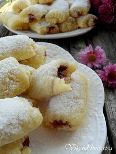 Kiflice Recipe, Cake Recipes, Dessert Recipes, Croatian Recipes, Macaroons, Coffee Cake, Cake Cookies, Delicious Desserts, Food And Drink