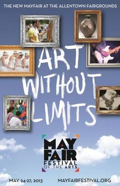 Mayfair Festival of the Arts - Allentown, PA -  May 24-27