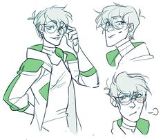 I know everyone loves the luscious locks older!Pidge, but consider… even shorter hair older!Pidge who is an intergalactic Ambassador for the Coalition.