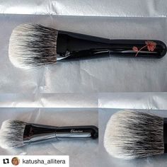 #Repost @katusha_allitera (@get_repost)  Exclusive  #brush #japanbrush #kihitsu with white canadian  squirrel now with me. Thank you #fudejapan_заказы #fudejapan @fudejapanrussia @fudejapan