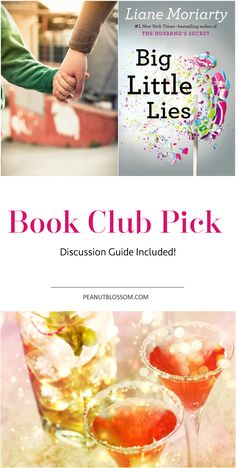 The perfect pick for your next book club meeting. Check out Big Little Lies by Liane Moriarty and you'll be all set with the full discussion guide included here too.
