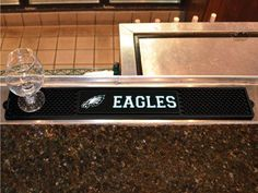 "NFL - Philadelphia Eagles Drink Mat 3.25""x24"""