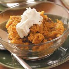 Healthy Sweet Potato Pudding for Thanksgiving Dinner
