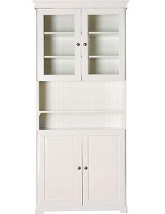 LIATORP Bookcase with glass doors, white | Liatorp, Glass doors and ...
