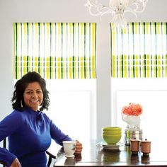 How to make fake roman shades. I've always wanted to make roman shades, but they seemed too hard. Now this I can do.