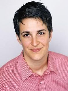 Rachel Maddow...beautiful and brilliant!