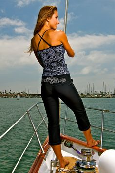 If you find yourself on a yacht, wear this.
