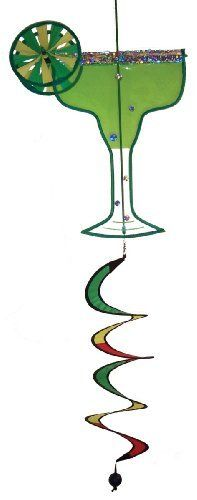 In the Breeze Margarita - It's 5 O'Clock Everywhere - Drink Spinner by In the Breeze. Save 5 Off!. $18.10. Two 5-Inch spinner wheels included within the design and an attached curlie tail. Heavy duty snap swivel attached for easy hanging. Weather resistant polyester fabric and plastic with applique and embroidery accents. 5:00 o'clock drink collection. Minimal assembly required. Margarita it's 5 o'clock everywhere drink spinners are fun 2d drinks that replicate our happy hour favorites. ...