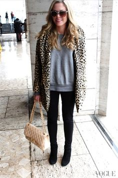 New York - click on the photo to see more street style inspiration