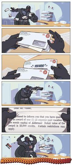 Darth Vader Wins BIG