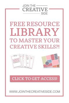 The Creative Library is a free(!) resource library filled with workbooks, checklists, cheat sheets, filters and more. All these resources will help you to master your creative skills. Mostly you will find these resources at the end of every blog post, so almost every time I publish a new blog post, I will add a new item to The Creative Library.