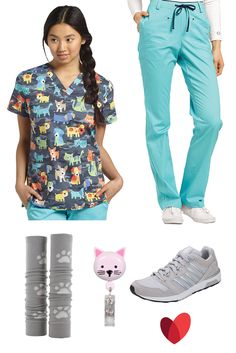 Shop unmatched-quality White Cross scrubs and uniforms at allheart. Order our comfortable scrub tops, pants, and jackets and enjoy our Price Match Guarantee! Nursing Outfits, Nursing Clothes, Vet Scrubs, Office Administration, Scrubs Outfit, Black Scrubs, Retractable Id Badge Holder, Work Uniforms, White Crosses