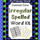 Not all words can be decoded; irregular words need to be identified  automatically. The words included in this product do not follow the phonic or ...
