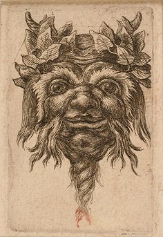 Grotesques, Tête d'un satyre souriant | Flickr - Photo Sharing!
