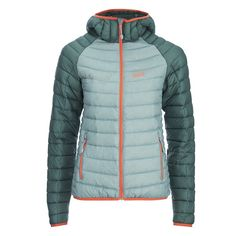 Jack Wolfskin Women's Zenon XT Jacket - Arctic Ocean (1.640 ARS) ❤ liked on Polyvore featuring activewear, activewear jackets and jack wolfskin
