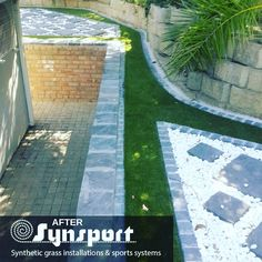Suppliers and installers of affordable top quality Artificial / Synthetic Grass sporting applications, residential and commercial surfaces in South Africa