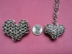 This PDF tutorial will enable you to create a beautiful heart made out of chainmail rings (which is my original design). The download will be instantly available to download when you purchase this product. WHAT WILL YOU GET? When you purchase this product you will receive a PDF file