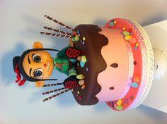 Vanellope cake