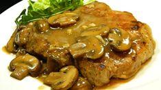 Pork Chops in Garlic Mushroom Sauce Recipe Simmering boneless pork chops in a garlicky mushroom sauce is a great dinner idea for Valentine's Day. Garlic Mushroom Sauce, Garlic Mushrooms, Stuffed Mushrooms, Stuffed Peppers, Mushroom Recipe, Mushroom Gravy, Garlic Sauce, Seared Pork Chops, Boneless Pork Chops
