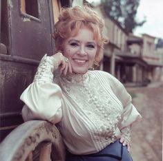 Amanda Blake ...  Miss Kitty Russell on 1950-70s TV series Gunsmoke ...