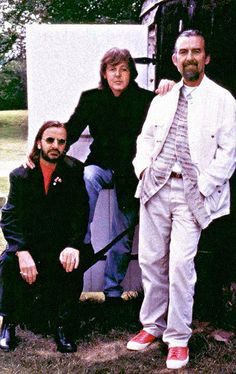 Beatles reunion '94-'95 for the Anthology