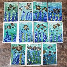 Kunstatelier Aktau ( â . Kids Art Class, Art Lessons For Kids, Art Lessons Elementary, Art For Kids, Spring Art, Summer Art, Primary School Art, Third Grade Art, Cool Art Projects