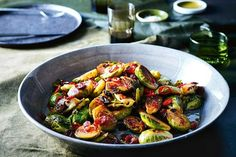 Andrew McConnell swears cooking with seasonal veg is the key to making home-cooked meals tasty. The flavours in this brussels sprouts recipe served as a side plate with any type of meat or fish is to-die-for.