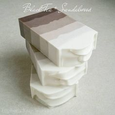 Black Tea + Sandalwood silk soap