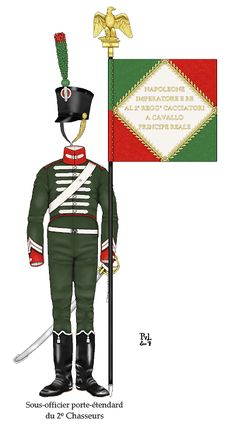 Kingdom Of Italy, Waterloo 1815, Italian Army, Army Uniform, French Empire, Napoleonic Wars, Emperor, Troops, Military