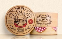 Millies Fromage Cheese Making kit - TheDieline.com: The Leading Package Design Blog