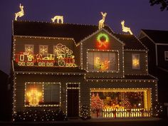 Christmas is for kids of ALL ages.   -Christmas Lights.