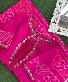Blouse Designs High Neck, Kids Blouse Designs, Hand Work Blouse Design, Simple Blouse Designs, Stylish Blouse Design, Bridal Blouse Designs, Stylish Dress Designs, Saree Blouse Designs, Designer Blouse Patterns
