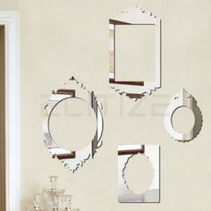 Espelho Decorativo em Acrílico Molduras Clássicas