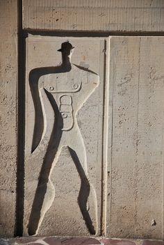 https://flic.kr/p/8WtJ54 | Le Corbusier, Unité d'Habitation, Marseille | le modulor