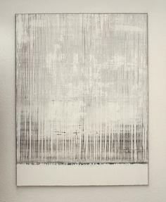 "Saatchi Online Artist: CHRISTIAN HETZEL; Mixed Media, Painting ""white grey painting"""