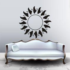 Wall Decal Decor Decals Sticker Sun Funnel Circle Room Rays Beam (M299) DecorWallDecals http://www.amazon.com/dp/B00FWKYW98/ref=cm_sw_r_pi_dp_bOFYub1J4BM9H