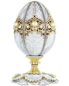 Faberge Pearl Egg Revival Of Faberge Imperial Class