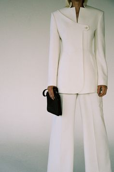 Suit Fashion, Fashion Outfits, Womens Fashion, Mens Dressing Styles Casual, Suits For Women, Women Wear, Fashion Silhouette, Sleeves Designs For Dresses, Elegant Dresses For Women