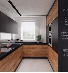 Contemporary wood Kitchen Interior Design is part of Kitchen cabinet design - Welcome to Office Furniture, in this moment I'm going to teach you about Contemporary wood Kitchen Interior Design