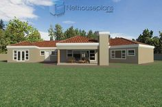 A 4 Bedrooms Tuscan styled house plans you can call home. This 4 Bedrooms Tuscan styled house design is perfect for your medium size family. Cheap House Plans, House Plans For Sale, House Plan With Loft, House Plans With Photos, Best Modern House Design, Contemporary House Plans, Double Storey House Plans, Tuscan House Plans, House Plans South Africa