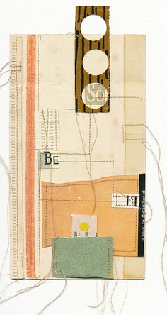Stitched collage by Melinda Tidwell